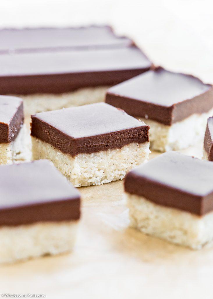 Chocolate-vanilla-slice-no-bake-gluten-free-dairy-free-sweets-snack-6