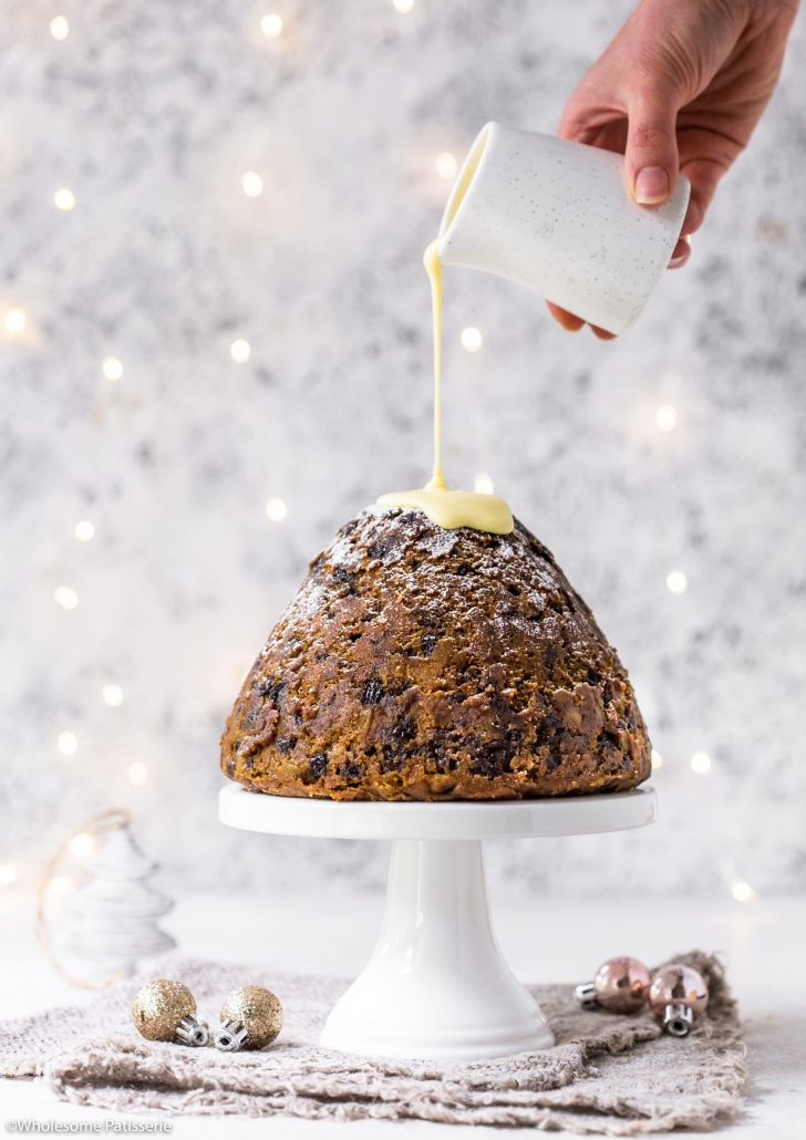 Christmas-pudding-steamed-pudding-delicious-festive-holidays-easy-simple-cream