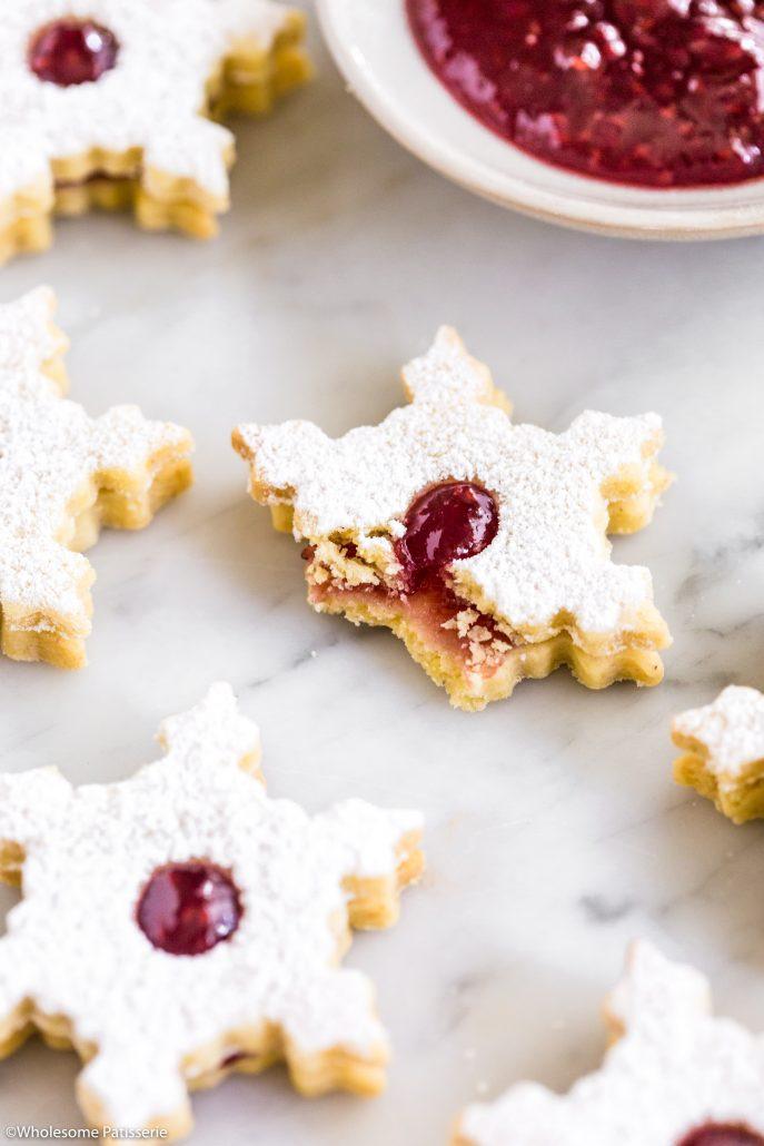 Linzer-cookies-christmas-cookies-baking-holidays-festive-jam-gluten-free-dough-shortbread-dessert
