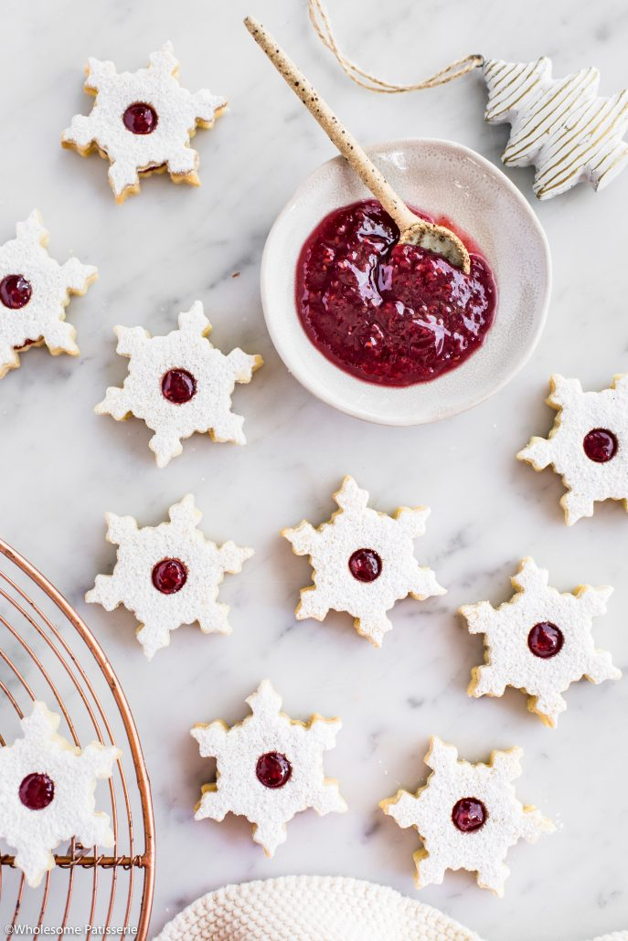 Linzer-cookies-christmas-cookies-baking-holidays-festive-jam-gluten-free-dough-shortbread-jam