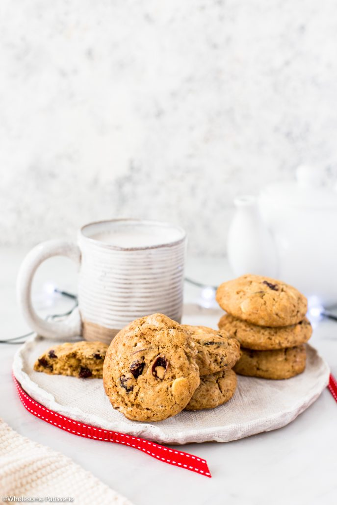 Cranberry-white-chocolate-cookies-festive-holiday-cookies-christmas-cookies-baking-season-easy-delicious-