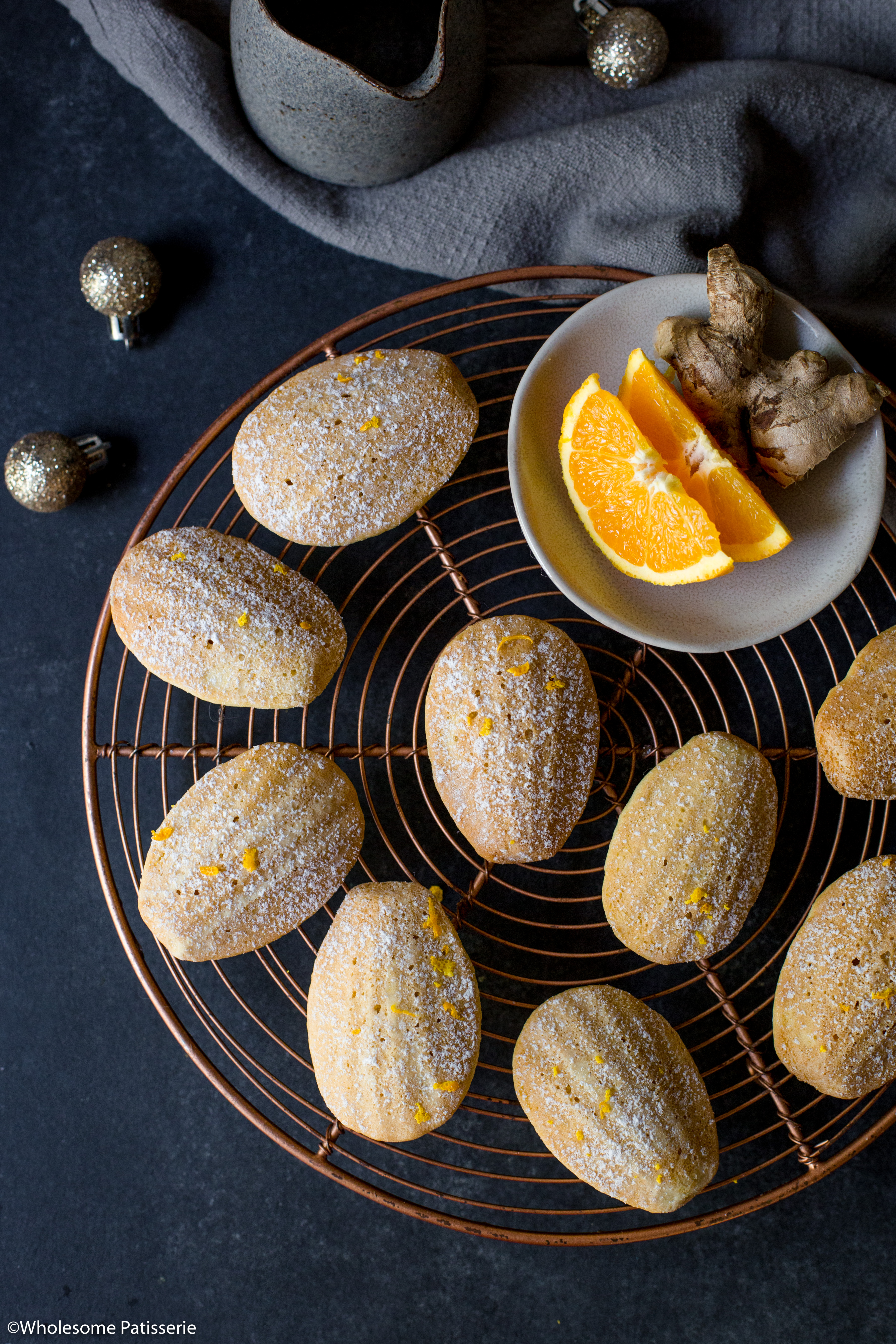 Orange & Ginger Madeleines