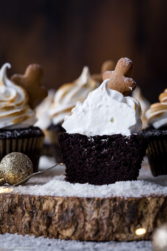 Peppermint-chocolate-meringue-cupcakes-gluten-free-cupcakes-christmas-cupcakes-holiday-baking-festive-family