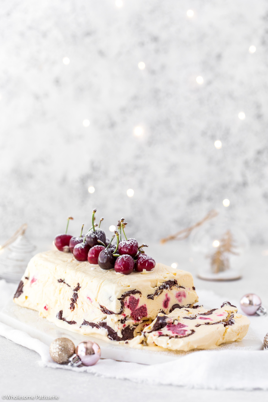 Raspberry & Chocolate Semifreddo