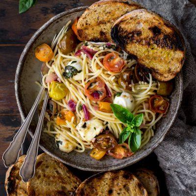 Bruschetta Spaghetti