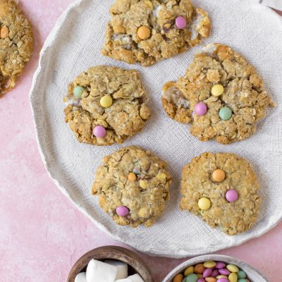 Marshmallow & Little Gem Anzac Biscuits