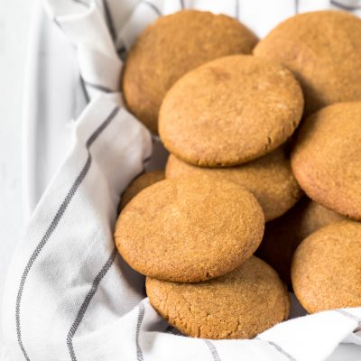 Homemade Gingernut Biscuits