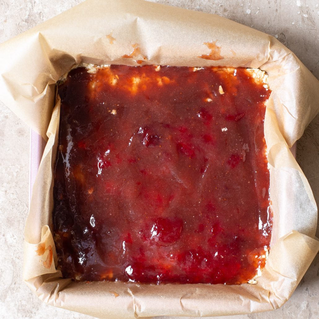 The classic jam crumble bar slice is one of those sweet treats that the entire family love and will devour!