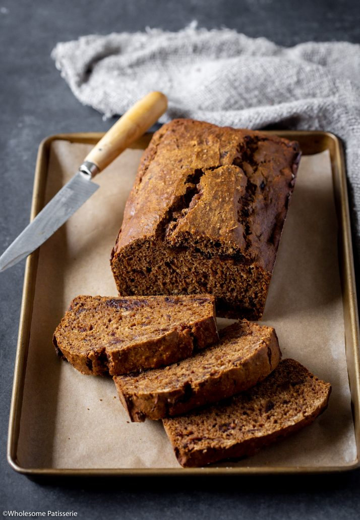 English Breakfast Tea Cake! Gluten & dairy free, this cake is under 10-ingredients and a lovely treat to enjoy with friends on a relaxing afternoon!