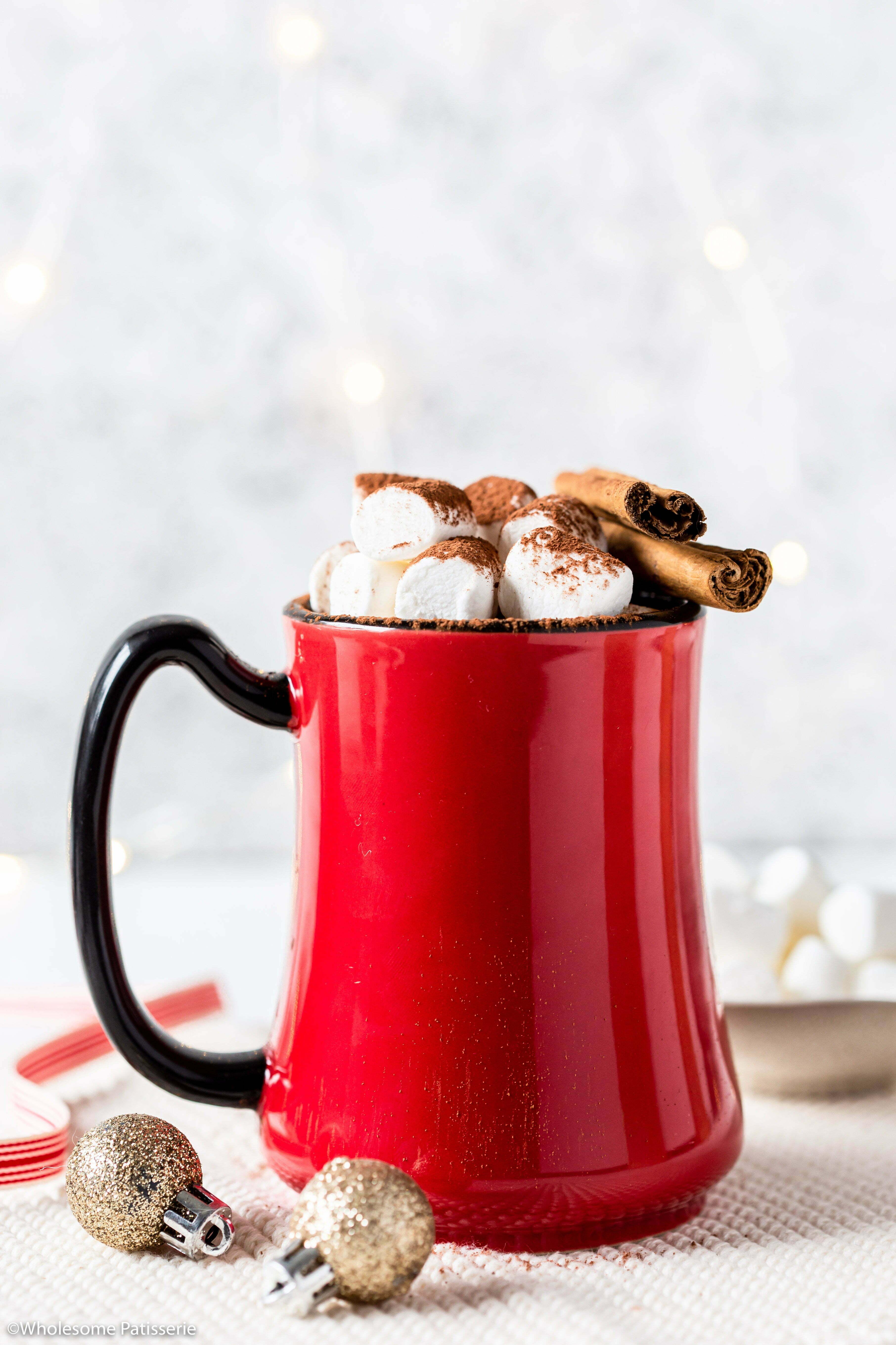 Peppermint & Cinnamon Hot Cocoa