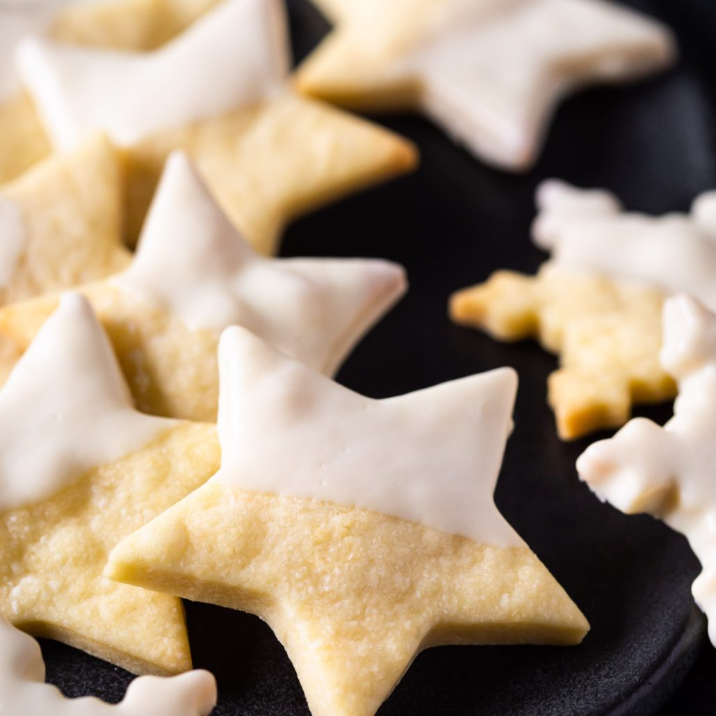 Classic Shortbread Cookies! The epitome of Christmas and the Holiday Season! These can be also be made gluten free! Dip in melted white chocolate for extra flair and sweetness!