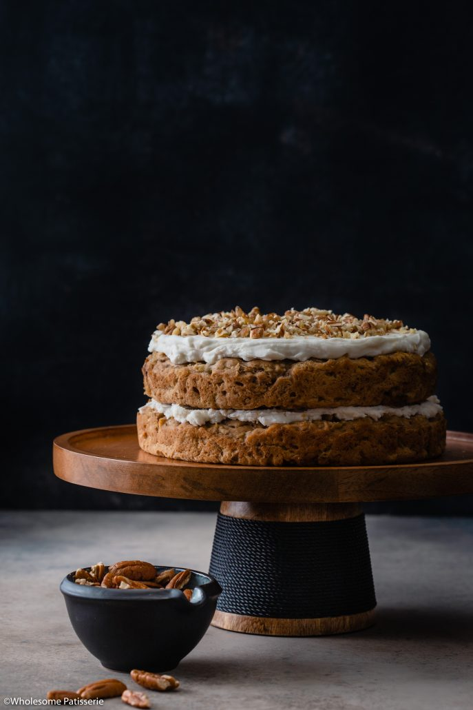 Hummingbird Cake (Gluten Free & Vegan)