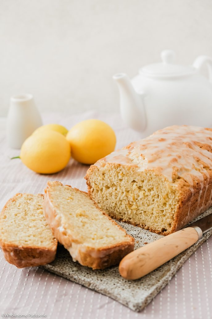 Lemon Loaf! This homemade lemon loaf is created in one bowl and then drizzled with a lemon infused icing! It's fluffy, light and just perfect to serve for afternoon tea.