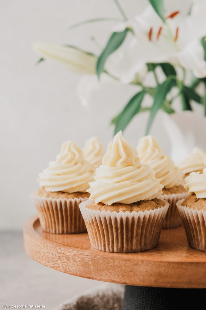 Orange & Cinnamon Cupcakes! These delightful cupcakes are beautifully fluffy and infused with fresh orange zest, juice and a touch of ground cinnamon! Serve these at a special occasion or spoil yourself and enjoy any day of the week. The cake itself is a one-bowl method making your life even easier!