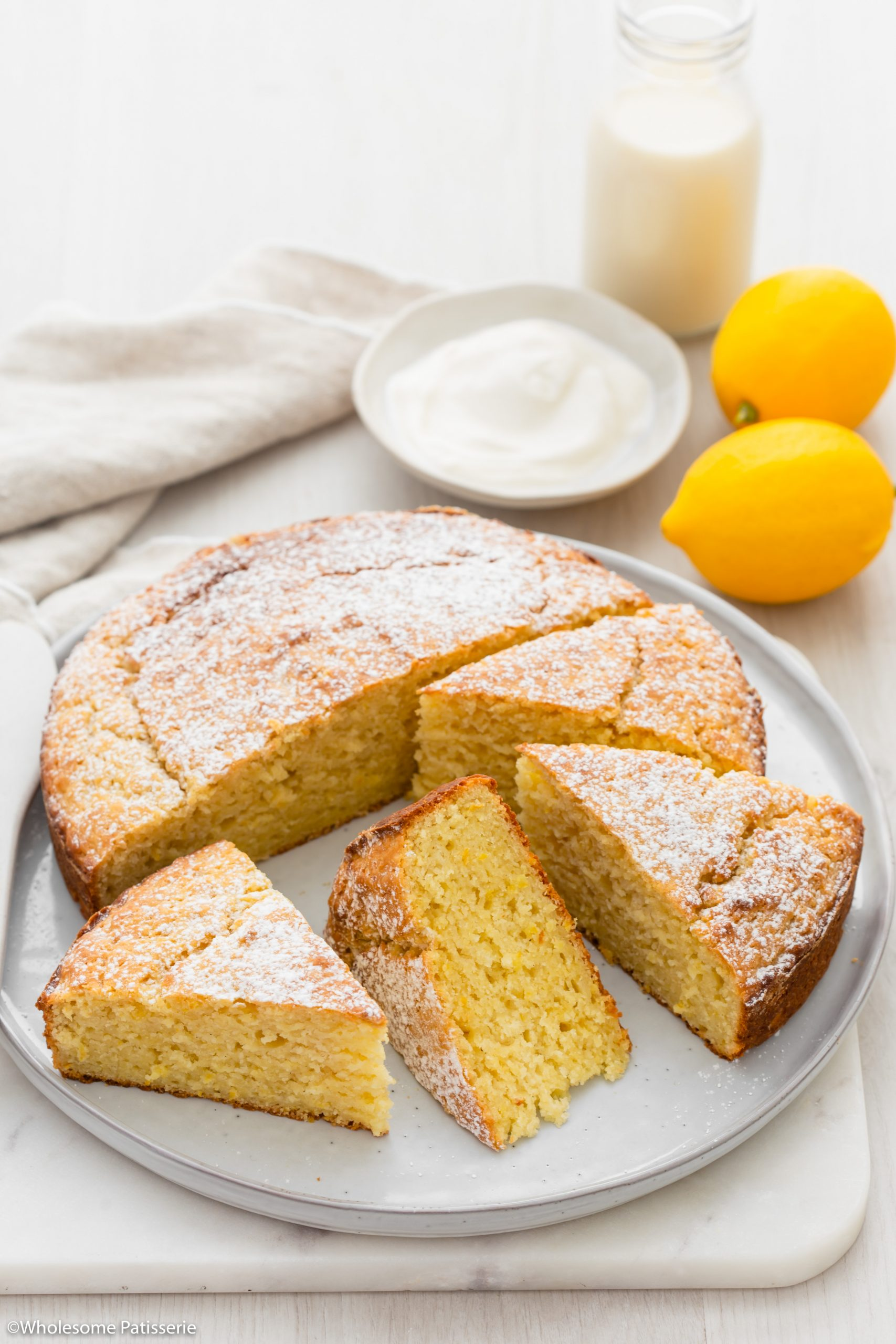 One Bowl Lemon Yoghurt Cake