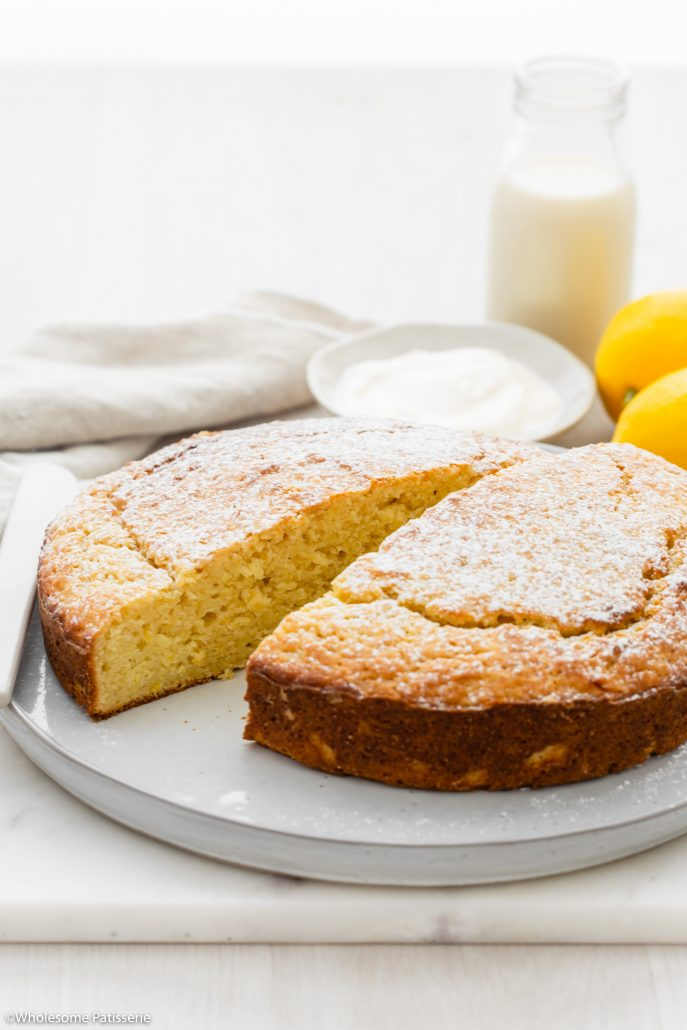 One Bowl Lemon Yoghurt Cake! This classic cake is soft, moist and absolutely scrumptious. Created in one bowl using 9-ingredients, it's one of the easiest cakes you can bake.