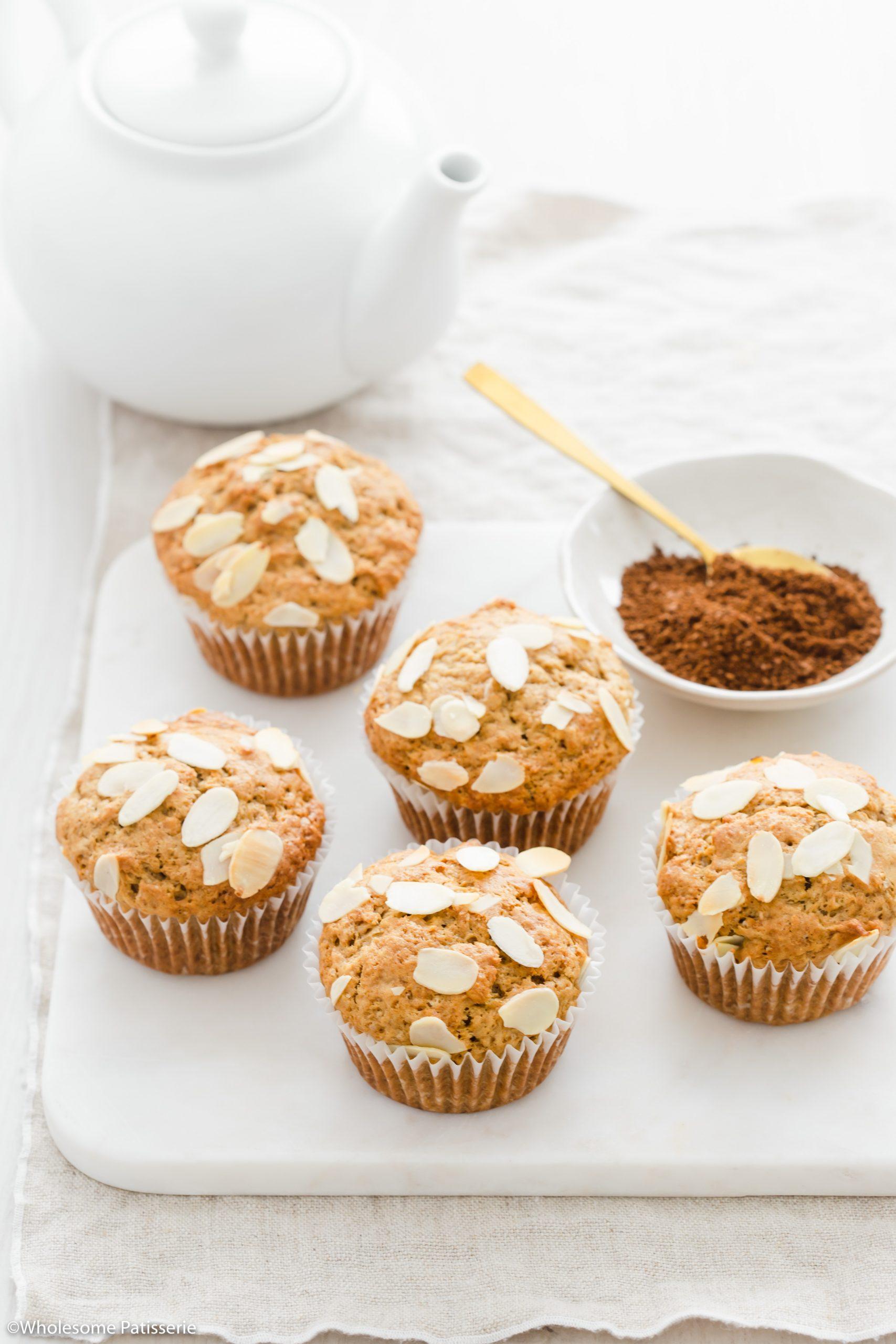 Coffee & Almond Muffins